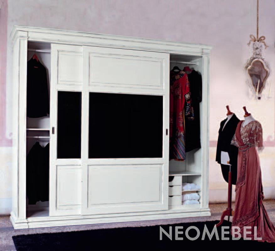 Мебель для спальни - спальня glamour - шкаф-купе 2-х дверный.